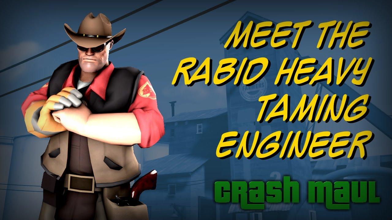 tf2 meet the heavy taming engineer