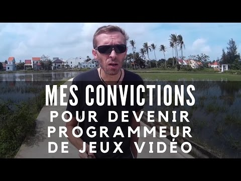 MES CONVICTIONS POUR DEVENIR PROGRAMMEUR DE JEUX VIDEO !