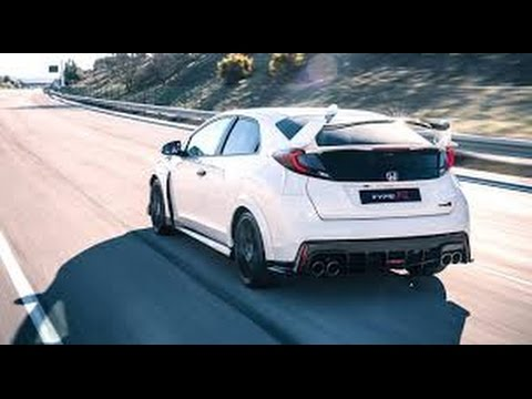 2016 honda civic type r acceleration top speed youtube for Honda civic 2016 top speed