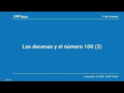 1. Unidad 7. Las decenas y el numero 100 (III)