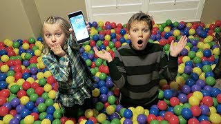 SHE STOLE MY PHONE! | Ball Pit Prank!