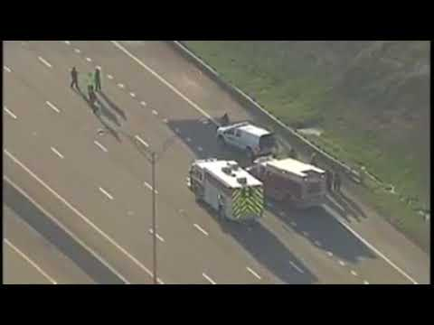 Traffic alert: I-480 westbound at State Road closed due to hazmat spill