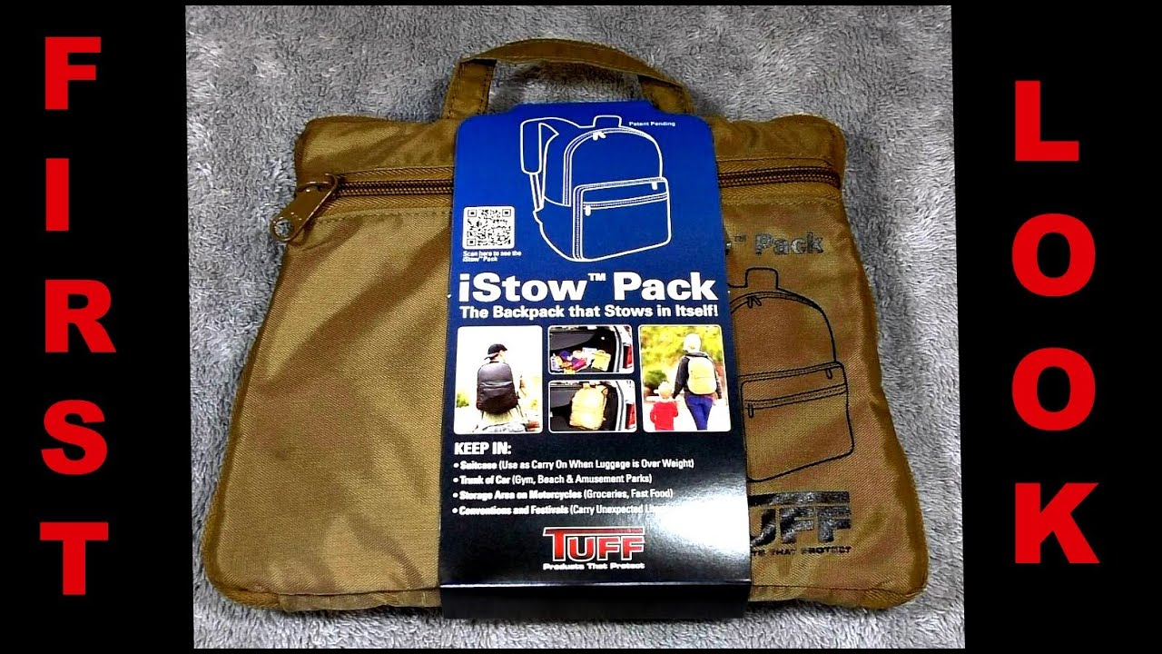 Tuff Products i Stow Pack First Look