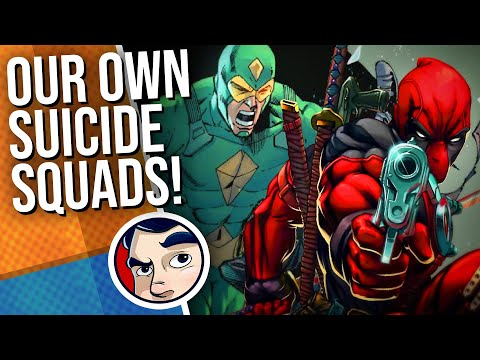 Deadpool on the Suicide Squad? We Make Our Own Squads Comics Experiment | Comicstorian