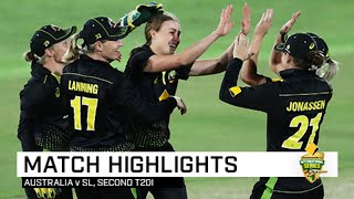 Australia seal series with crushing win over Sri Lanka | Second CommBank T20I