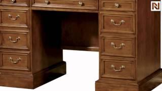 Hekman Pedestal Desk 7-1260