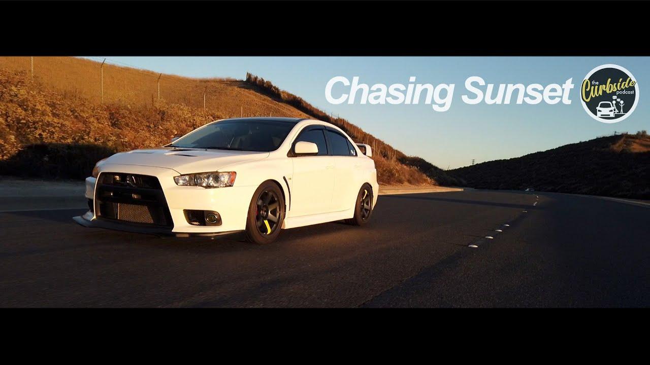 Chasing Sunset [2014 Mitsubishi Evo X MR]
