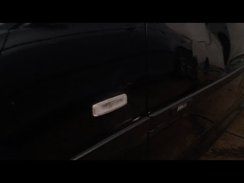 BMW E39 Euro Clear Side Marker Replacement