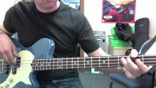 You Give Love A Bad Name - Bon Jovi - Bass Cover