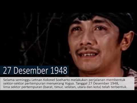 Presiden Soeharto (7): Serangan Umum 1 Maret 1949 Seri-3