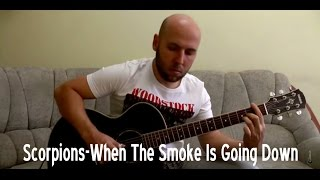 Scorpions - When The Smoke Is Going Down Fingerstyle Guitar