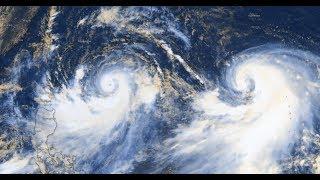 LEKIMA et KROSA : Duo cyclonique dans le Pacifique Nord-Ouest