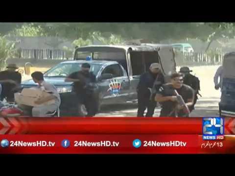 Counter Terrorism Dept. mock emergency drills in Toba Tek Singh
