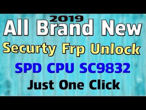 SPD CPU ALL MOBILE FRP UNLOCK FASTBOOT MODE USE FRP TOOLS 100%TESTED