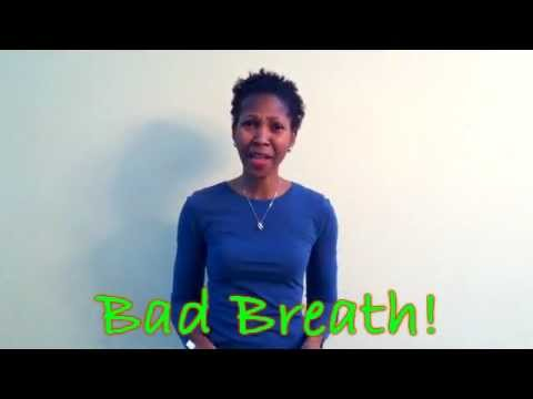 Bad Breath Knock-out Punch!