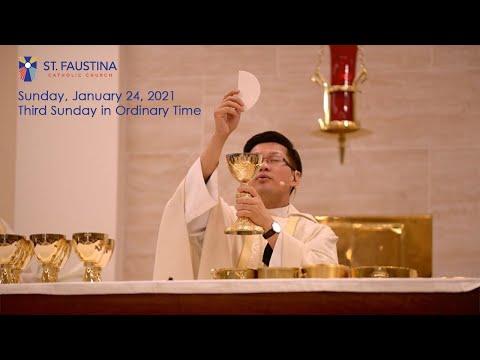 St. Faustina Catholic Church - Sunday, January 24, 2021 - 9am Mass