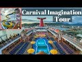 Carnival Imagination Full Cruise Ship Tour & Review (2019)