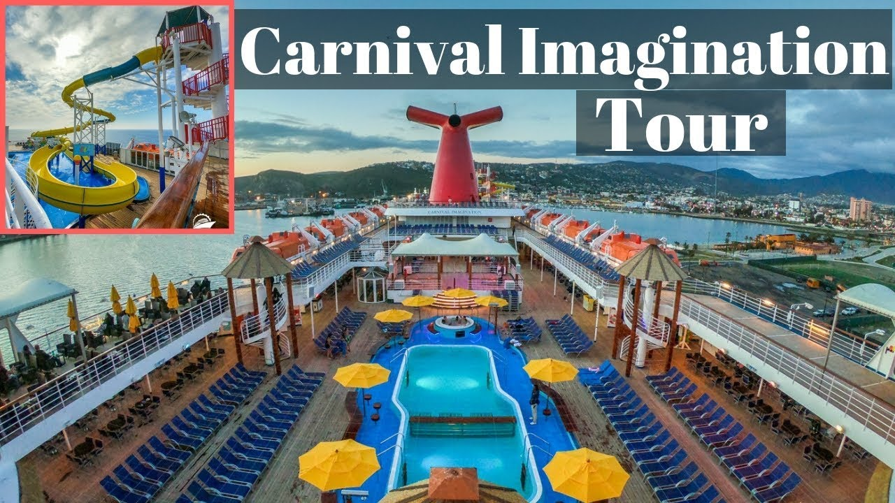 Carnival Imagination Full Cruise Ship Tour & Review (2019