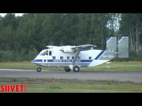 FIA 2015: Short SC 7 Skyvan transport display