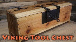 borntoforge making a viking tool chest pt2