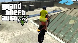 ULTIEME GLIDE RACE (GTA V Funny Moments)