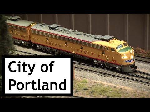 City of Portland Streamliner at Colorado Model Railroad Museum UP Days 2017