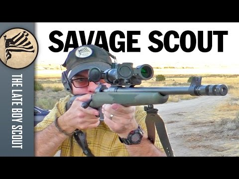 Shooting the Savage 11 Scout Rifle: Outfitted by Optics Planet