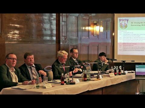 Stadtratssitzung Zeitz vom 5 Mai 2017