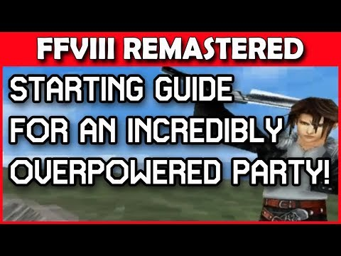 Get overpowered early in FINAL FANTASY 8 REMASTERED with THIS method!