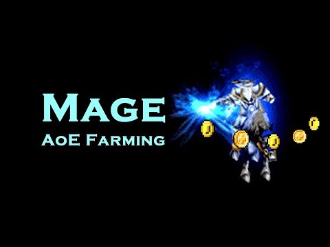 WoW Vanilla: Mage AoE Farming at 60  (OUTDATED!)