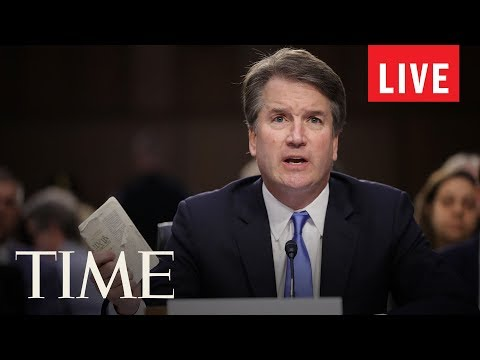 Supreme Court Nominee Brett Kavanaugh's Confirmation Hearings Continue On Day 3 | LIVE | TIME ...