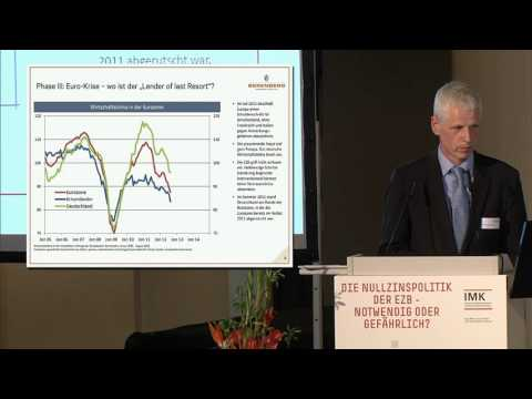 Die Nullzinspolitik der EZB – notwendig oder gefährlich? Schmieding