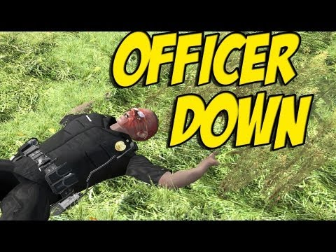 ARMA 2 Island Life - Officer Down