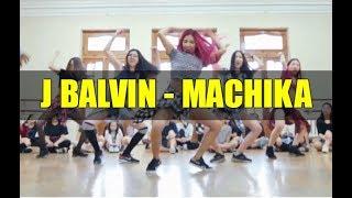 J Balvin - Machika | Choreography Agusha | Fam Dance Studio