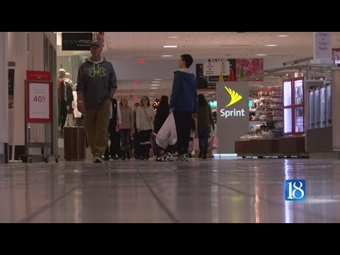 Black Friday shoppers get their holiday shopping underway at the Tippecanoe Mall