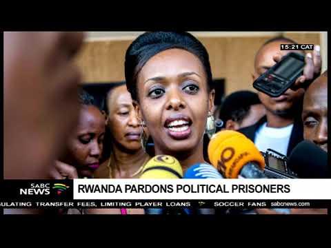 Rwanda pardons political prisoners