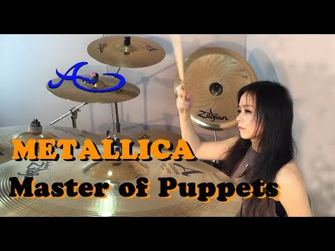 METALLICA - Master Of Puppets drum cover by Ami Kim (16th)