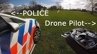 Best POLICE encounter with DRONE Pilot EVER!