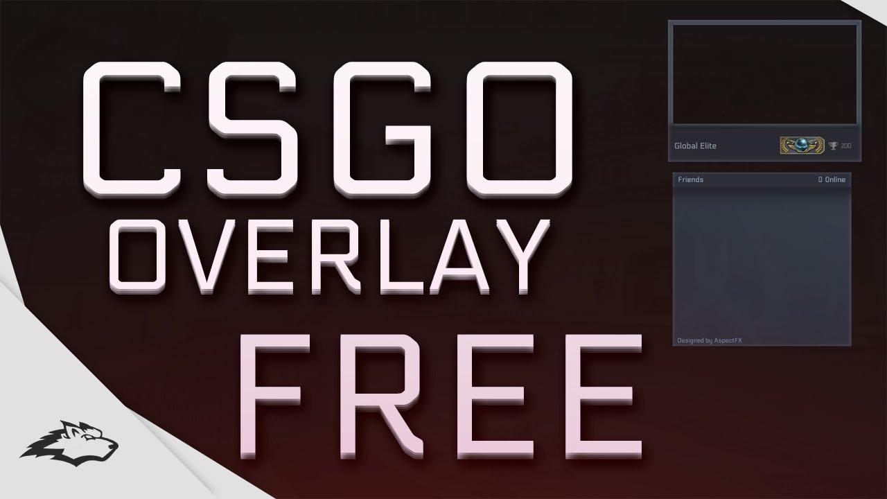 free gfx free twitch csgo overlay template 100 editable psd