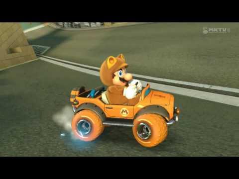 Wii U - Mario Kart 8 - Toads Hafenstadt