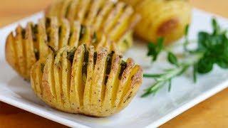 Картошка - Гармошка , Запеченная в Фольге. Нескучные блюда Из картошки