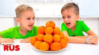 Влад и Никита и правила поведения для детей