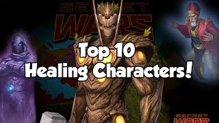 [Marvel Future Fight] Top 10 Healing Characters!