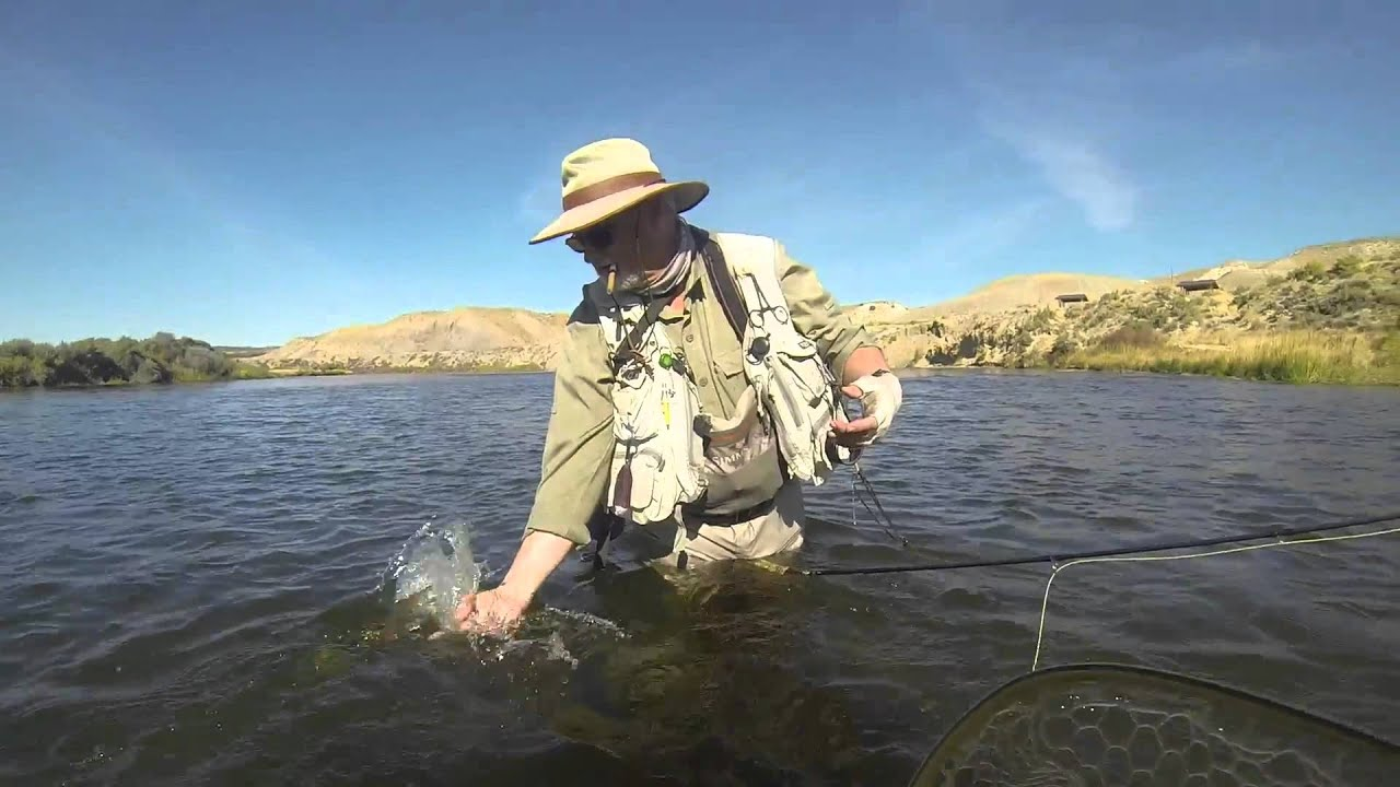 Fall fishing wyoming 2015 youtube for Wyoming out of state fishing license
