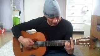 Simon & Garfunkel: Sounds Of Silence - Acoustic Guitar Lesson with Lyrics and Chords -