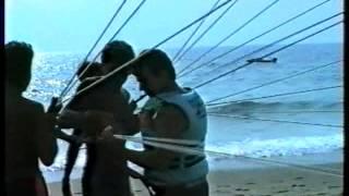 Fallschirm am Kleopatrastrand. Alanya 1989 avi