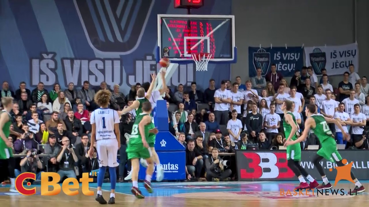 Vytautas – Žalgiris-2: highlights of first Ball players game in Lithuania
