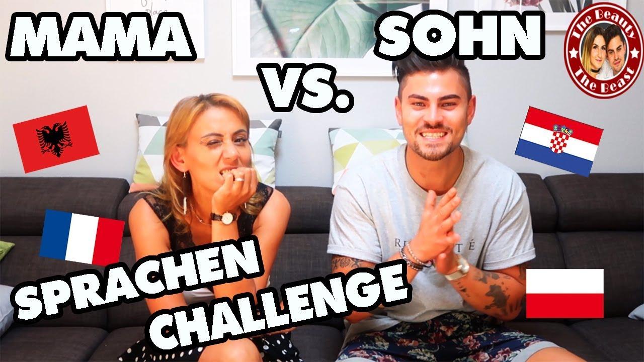 SPRACHENCHALLENGE EXTREM - MAMA VS. SOHN   TBATB - YouTube