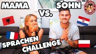SPRACHENCHALLENGE EXTREM -  MAMA VS. SOHN | TBATB