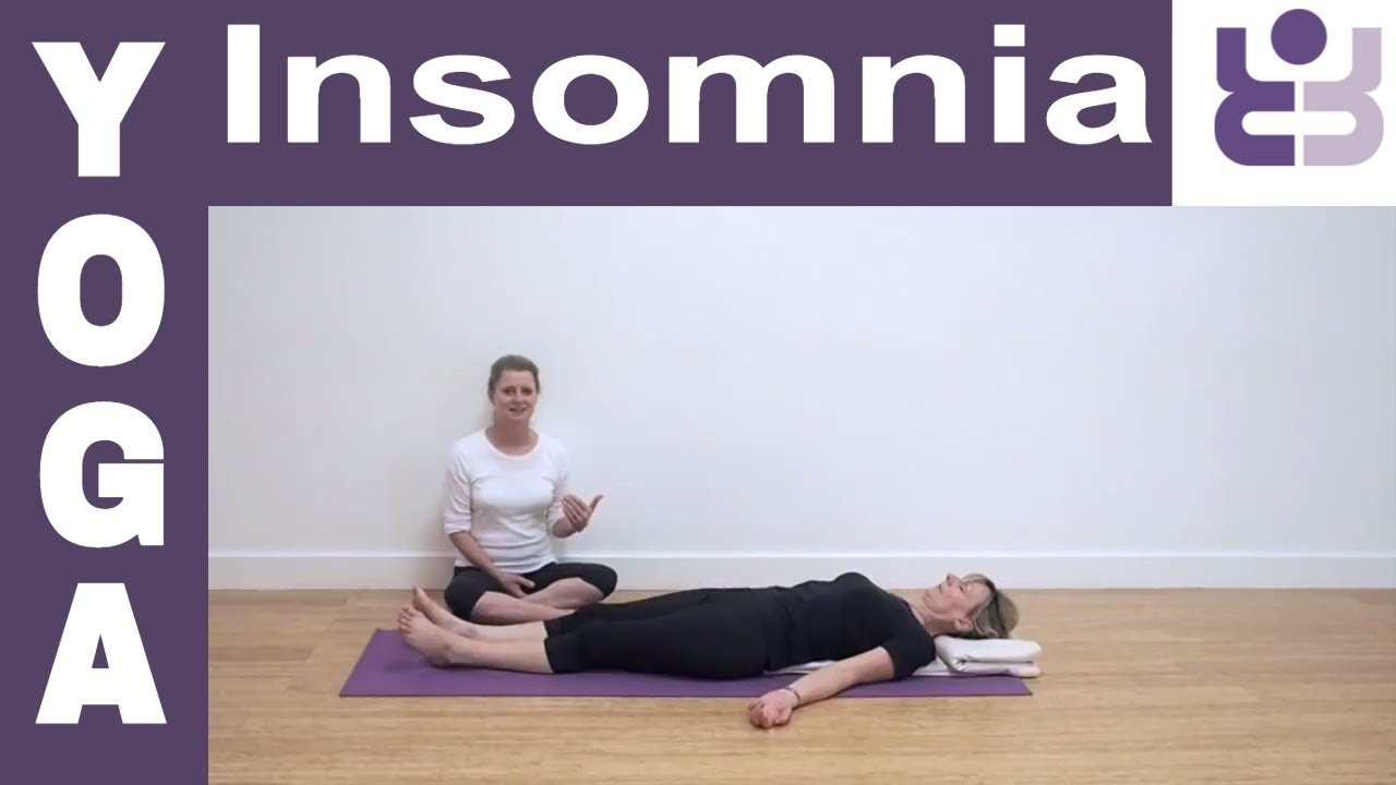 Yoga For Insomnia Series Savasana Corpse Pose Iyengar Yoga For Beginners Youtube